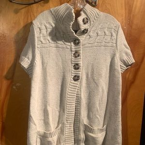 Gap XXL long short sleeve sweater